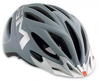 Велошлем Met 20 miles matt gray/silver (reflective stickers)