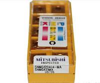 Твердосплавные пластины сменные для резцов SNMG120404-MA US735 MITSUBISHI