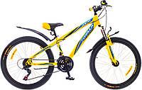 """Велосипед собранный почта 20"""" Formula DAKAR AM 14G     St  желто-синий  2015"""