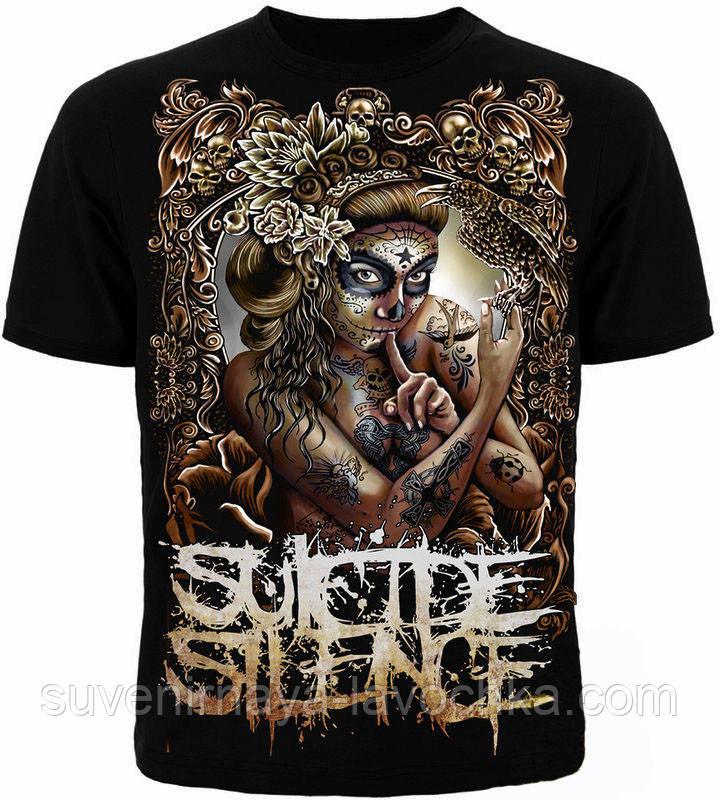 Рок футболка Suicide Silence Muerte