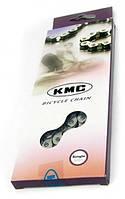 Цепь KMC K810 Single-speed 100 звеньев, с замком