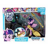 Твайлайт Спаркл и перевертыш Стражи гармонии  My Little Pony Guardians of Harmony Twilight Sparkle Changeling