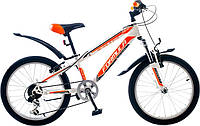 """Велосипед собранный почта 20"""" Formula DAKAR AM 14G     St  бело-оранжевый  2015"""