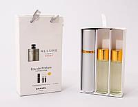 Мужской набор парфюмерии 3*15l Chanel Allure Sport Pour Homme Men