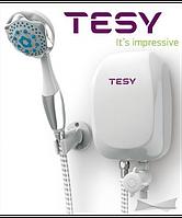 Колонка электрическая TESY с душевой лейкой 5,0 кВт