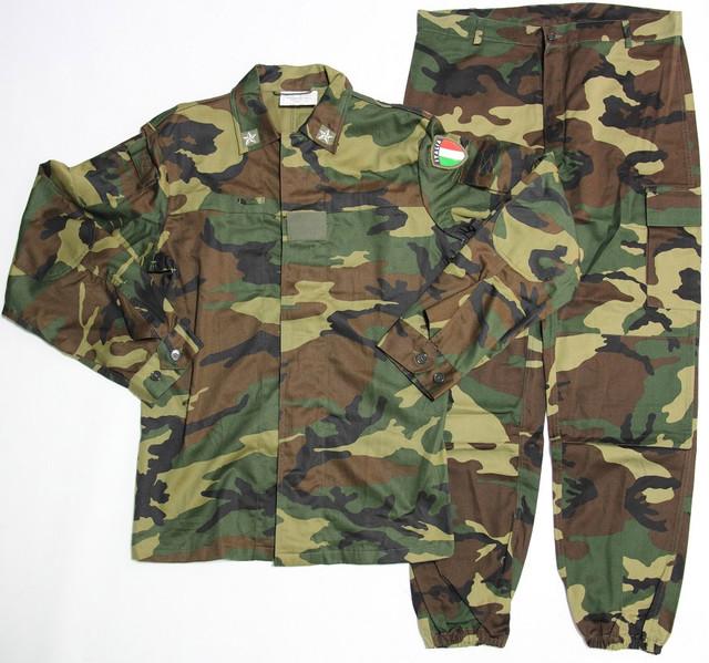 Армейский камуфляжный костюм Woodland Италия