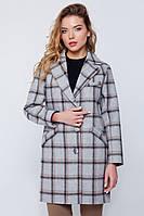 """Пальто-пиджак """"Кармен"""" светлая клетка"""