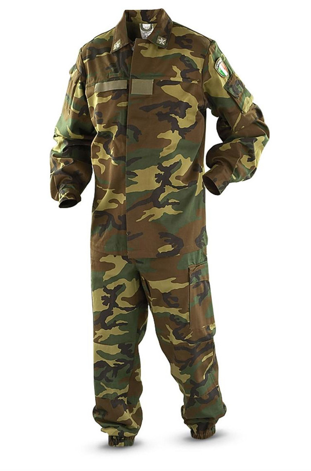 Камуфляжный костюм Woodland Италия