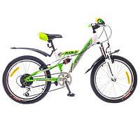 """Велосипед собранный почта 20"""" Formula KOLT AM2 14G St  бело-зелен.  2015"""