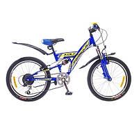 """Велосипед собранный почта 20"""" Formula KOLT AM2 14G St  синий  2015"""