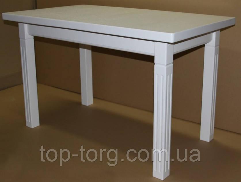 Стол Классик плюс белый 1400(+500)х850мм