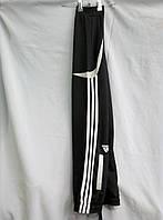 Спортивные штаны подросток, адидас, полоски белые