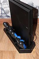 Вертикальная подставка зарядная станция для Playstation 4 PS4