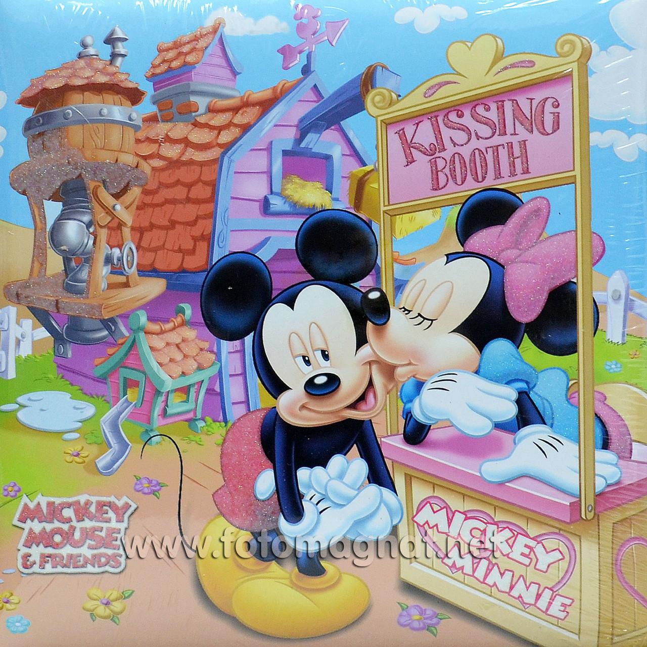 Фотоальбом DISNEY (дитячий альбом) 200/10х15см. книжковий палітурка,місце для записів.