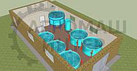 Рыбная ферма 1,2 тонны в год
