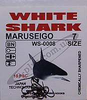 Крючок рыболовный / MARUSEIGO / №7 / White Shark