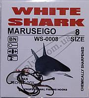 Крючок рыболовный / MARUSEIGO / №8 / White Shark