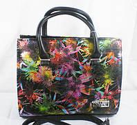 Яркая деловая женская стильная устойчивая сумка