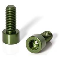 Болты крепления подфляжника, зелёные