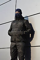 Куртка анорак Warior черная