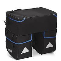 Сумка на багажник XLC BA-S15 Traveller Triplex Bag