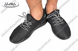 Мужские кроссовки черные (Код: 133)