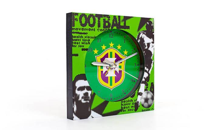 Годинники настінні Клубні BRASIL FB-1963-CBF, фото 2