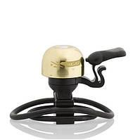 Звонок велосипедный XLC DD-M10 Messing золотой