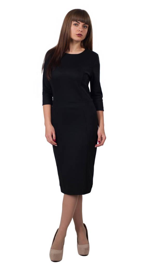 Платье Кэрри 0099_3 Чёрное