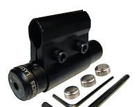 Лазерный прицел для пневматики, целеуказатель HJ-11B, красный лазер, мощность 5 мВт, питание 3хLR44