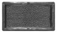 Пластиковые формы для тротуарной плитки Антик №3 шагрень 200х100х45 мм Вереск 1 шт