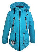 Куртка демисезонная парка на девочку 53553
