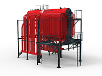 Паровой котел ДКВр давлением 2,3 и 3,9 МПа (газ,мазут,уголь)
