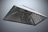 Зонт витяжний 1*2*0,5 м з оцинкованої сталі , фото 1