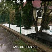 """Панельный забор из сварной сетки """"Рубеж"""" 3х4мм; 2,50мх1,20м, фото 1"""