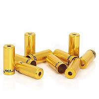 Тормозные наконечники на рубашки BR-X10 золотые
