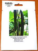 Семена  Огурца  Китайский Фермерский  (Украина), 100 семян, фото 1