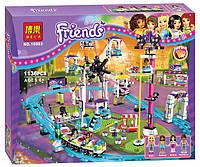 Конструктор Френдс Парк развлечений: Американские горки Bela 10563 (аналог Lego Friends 41130) 1136 деталей