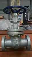 Засувка лита сталева фланцева 31с45нж Ду80 Ру160 з висувним шпинделем