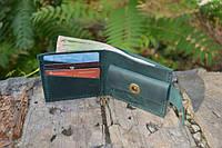 Мужской бумажник классика компакт 3012 (Зеленый)