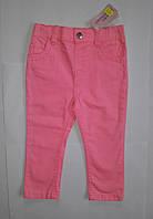 Джинсы для девочек ярко-розовые Young Dimension