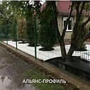 Панельные (секционные) заборы из сварной сетки с полимерным покрытием, фото 2