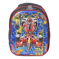 Модний шкільний рюкзак для  хлопчика  Формула 1