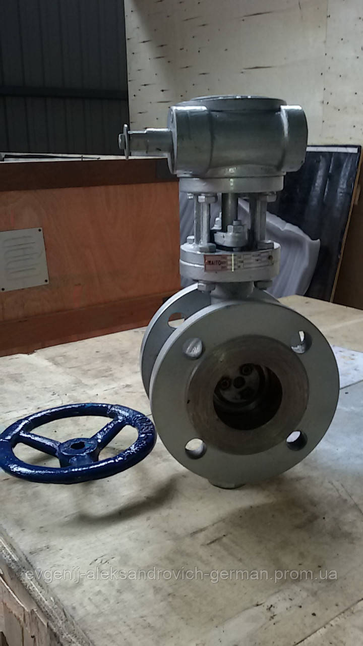 Затвор поворотный 32с330нж Ду400 Ру16 дисковый фланцевый