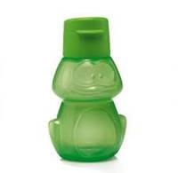 Эко - бутылка 350 мл с клапаном детская Лягушонок