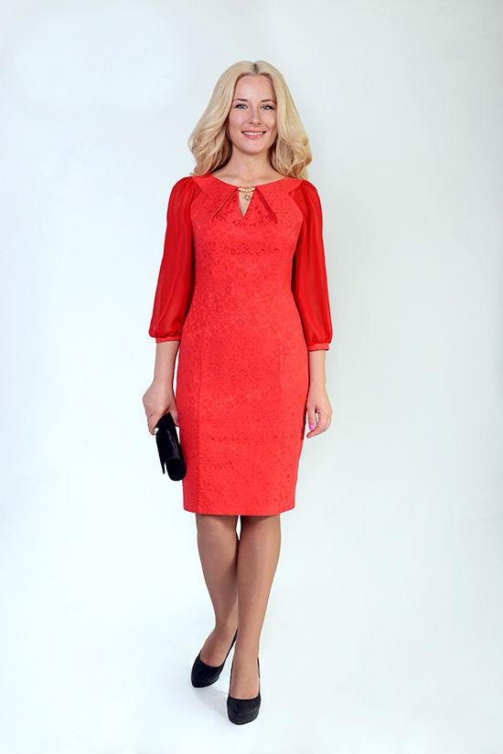 Нарядное женское платье с шифоновыми рукавами  продажа, цена в ... cf311535771
