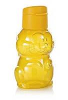 Эко - бутылка 350 мл с клапаном детская Кролик