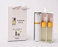 Мужской набор парфюмерии 45ml Chanel Egoiste Platinum Pour HommeMen