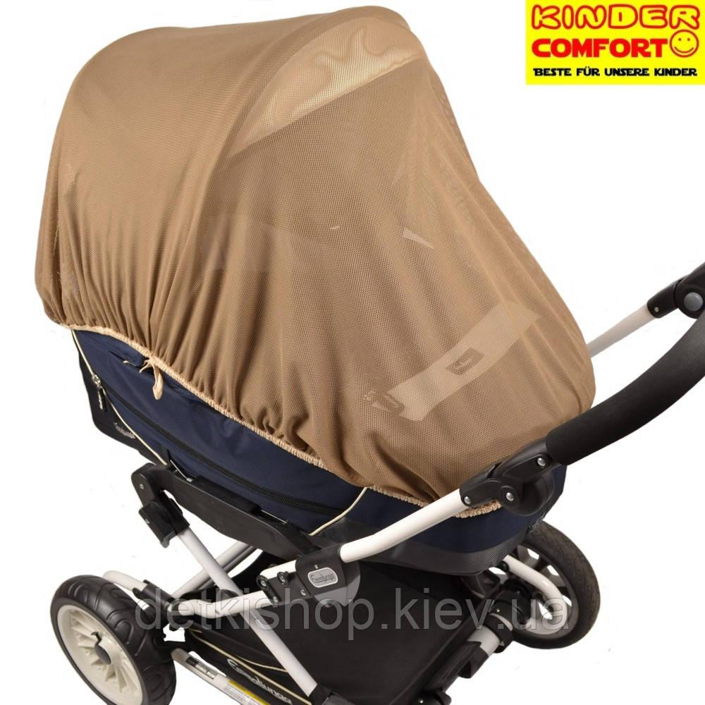 Москитная сетка универсальная (Kinder Comfort, тёмно-бежевая)