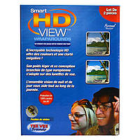 Антибликовые очки для водителей Smart HD View - 2 шт. // Smart HD View 519